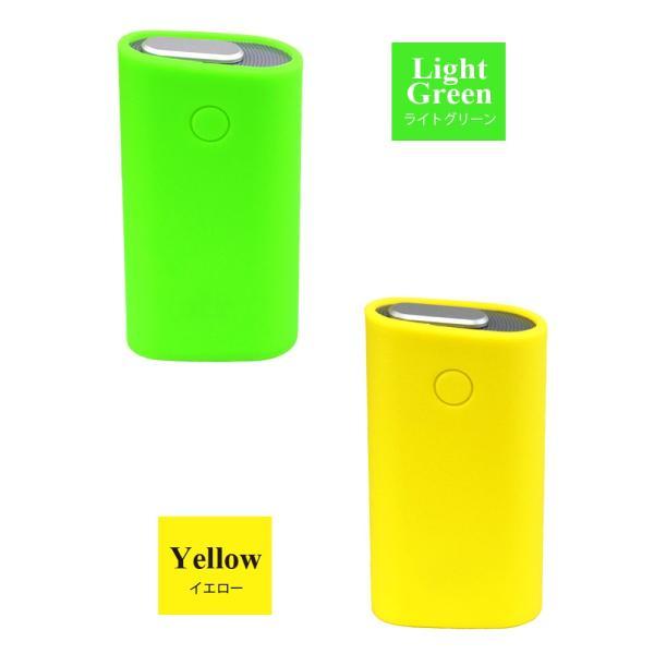 glo グロー ケース ライトの点灯が見える グロー カバー シリコン 電子タバコ gloケース シンプル glo スリーブケース グローケース|liviewmall|08