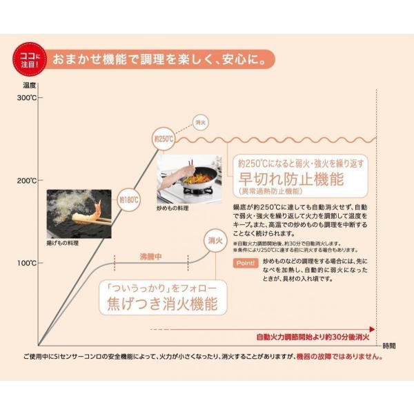 パロマ コンパクトガステーブルコンロ IC-N36H-R(右強火) LPプロパン 色ホワイト|livingheart|04