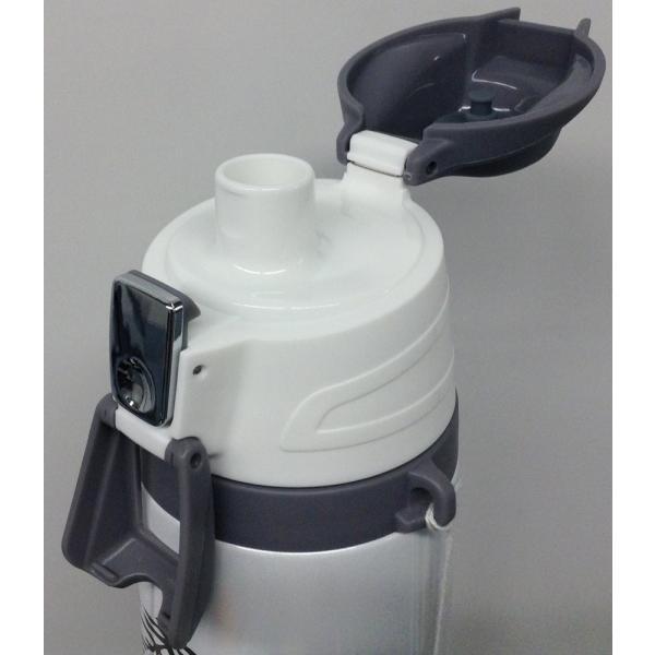 ダイレクトボトル 1L ストラップ付き 白虎 ADX-S101 (ETG) ピーコック|livingheart|03