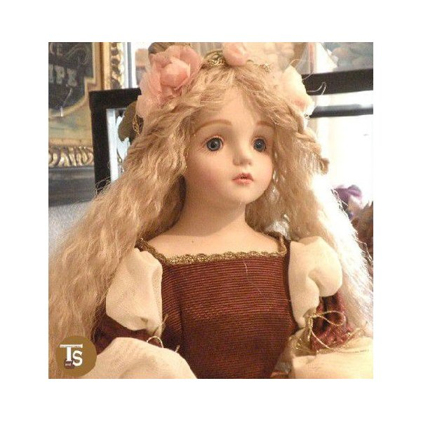 若月まり子人形作品・中型人形 キャラクターシリーズ 眠り姫 眠りの森の美女 p-503|livingts