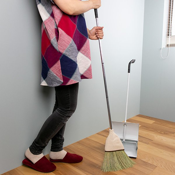 ほうき TSU・NA・GU つなぐ お座敷ほうき ジョイント式 日本製 ( 座敷箒 ホーキ 畳 和室 掃き掃除 )