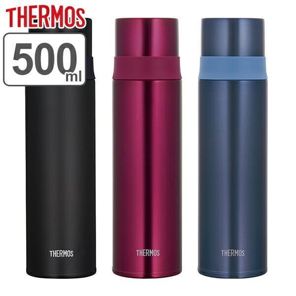 水筒サーモス(thermos)ステンレススリムボトルコップ付きFFM-501500ml(コップ保温保冷ステンレス)