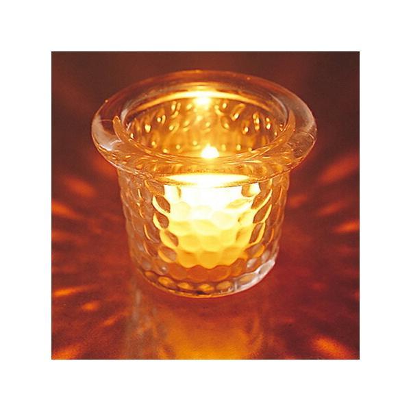 キャンドルホルダー キャンドルグラス ガラス製 ハンマードグラスライトハウス ( キャンドルスタンド ろうそく立て アロマ 香り キャンドル )