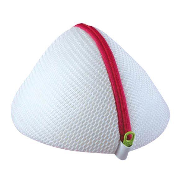 洗濯ネット ドーム型ブラジャーネット ファスナー ( ランドリーネット 洗濯用品 ネット )