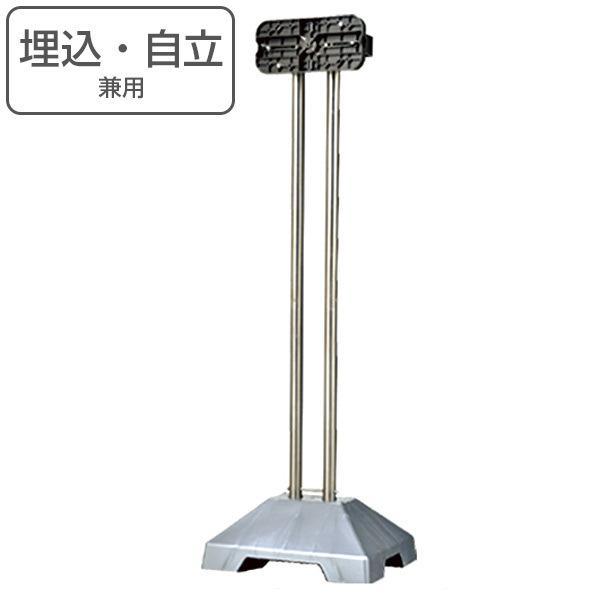 郵便ポスト スタンドポール SP-JUW 自立・埋込兼用 ( ポスト 郵便受け メールボックス )