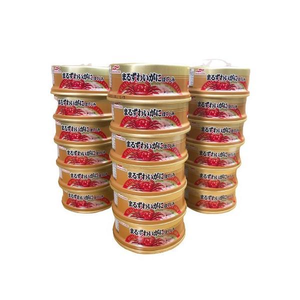 マルハニチロ ずわい蟹缶詰 まるずわいがにほぐしみ 50g×18缶セット