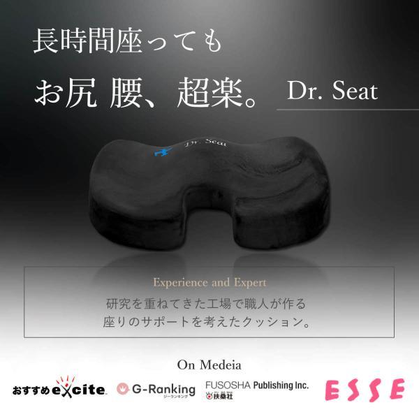 腰痛 クッション 椅子 腰痛クッション 低反発 オフィス 車 ゲルクッション 骨盤 長時間 LIworld Dr. Seat|liworldhomeproduct|03