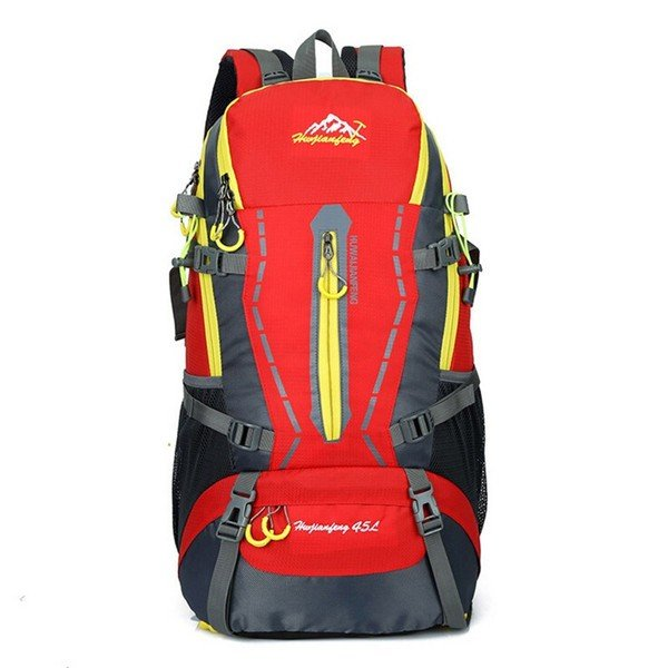dcd696be23c5 ... リュック リュックサック メンズ バックパック 45L大容量 デイパック スポーツ 旅行 アウトドア ナイロン バッグ 鞄 ...