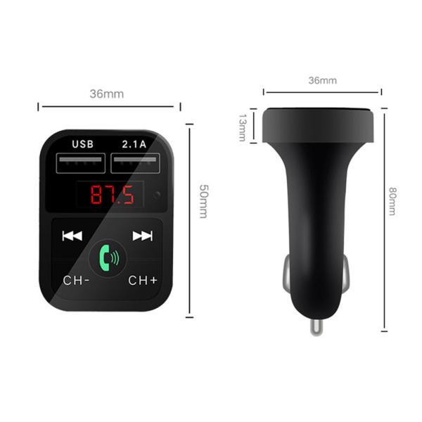 FMトランスミッター  Bluetooth 対応 Bluetoothカーアダプター ハンズフリー通話 iPhone Android USB充電 高音質 12V 24V|lkestore|11