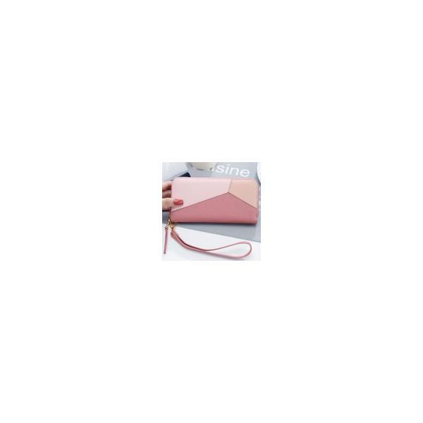 【ピンク他全3色】レディース財布 長財布 レディース 可愛いリポン長財布 婦人財布 女性へのプレゼントに最適 ロングウォレット