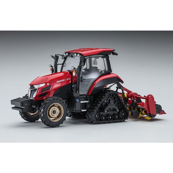 ハセガワ1/35ヤンマートラクターYT5113Aデルタクローラ/ロータリー仕様 66107  プラモデル