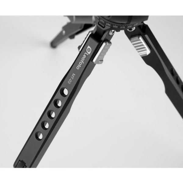 Leofoto (レオフォト) MT-03+LH-25 人気の堅牢ミニ三脚+自由雲台|locadesign|14
