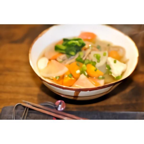 「笑いーと」「米粉麺」いわき米粉麺 カレーうどん(白米めん(中太・2個)カレースープ(2袋))|localtoglobal|04