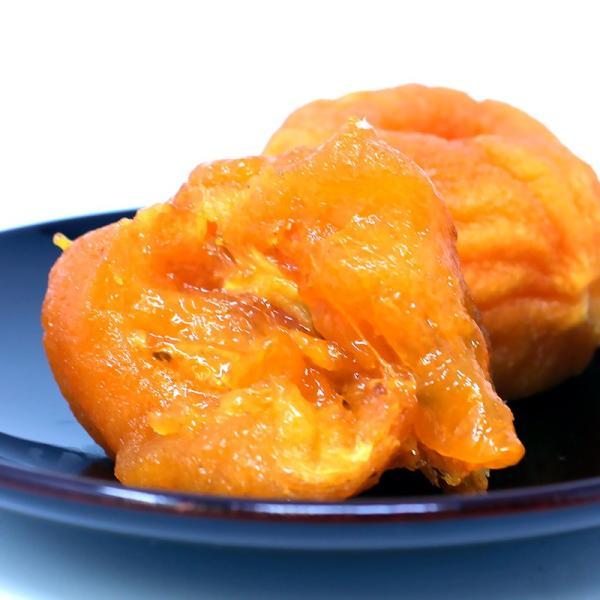 「極上の会津」みしらずあんぽ柿 230g(4〜5個入)トレイ×3パック 甘味がギュっと詰まったとろ〜り食感は最高です!「特別価格」|localtoglobal|05