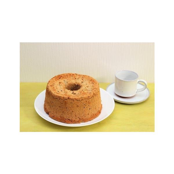17センチホール2個セット!国産やオーガニックのこだわり素材で作った 磐梯シフォンケーキ