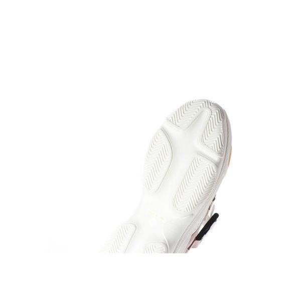 バイアシナガオジサン BY あしながおじさん 厚底ボリュームスニーカー (ホワイトコンビ)