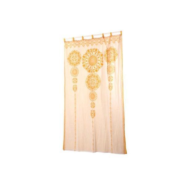 RoomClip商品情報 - 【チャイハネ】セレーネカーテン178cm タッセル付き イエロー