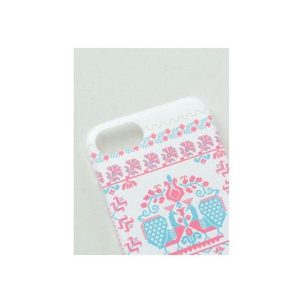 【欧州航路】iPhone8/7 兼用ケース ハンガリー ピンク