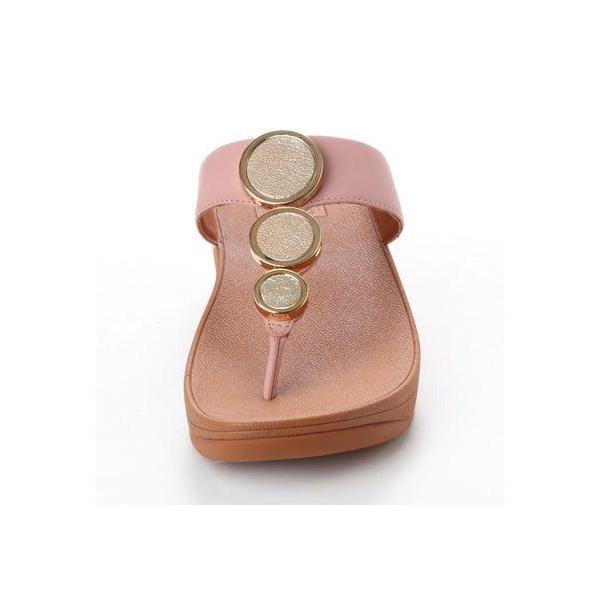 フィットフロップ FitFlop HALO TOE THONG SANDALS (Dusky Pink)