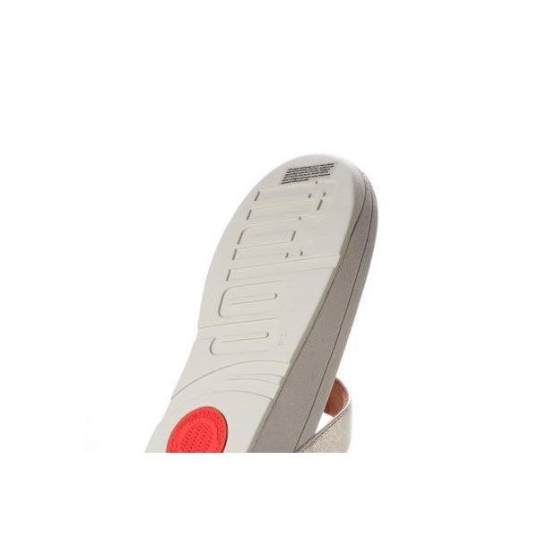 フィットフロップ FitFlop ROKA TOE-THONG SANDALS - LEATHER (Silver)
