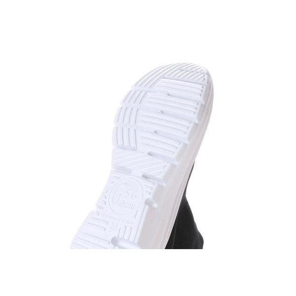 ゴムゴム Gomu56 フィット感ショートブーツ (ブラック)