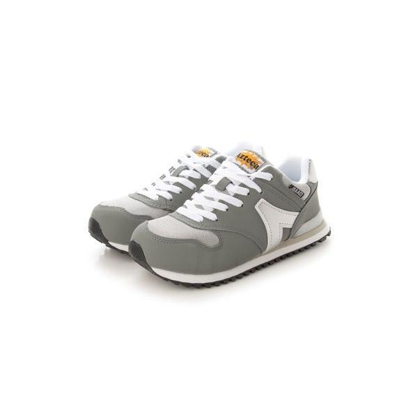ジーディージャパン GD JAPAN 安全靴 セーフティーシューズ 鋼鉄先芯 ローカット 軽量 AT-350 グレー (グレー)