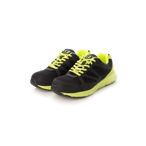 ジーディージャパン GD JAPAN 安全靴 セーフティーシューズ 鋼鉄先芯 ローカット 軽量 GD-811 グリーン (ブラック/グリーン)