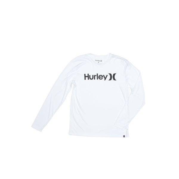 ハーレー Hurley HURLEY/ハーレー 長袖ラッシュガード MRG2100006 (ホワイト)