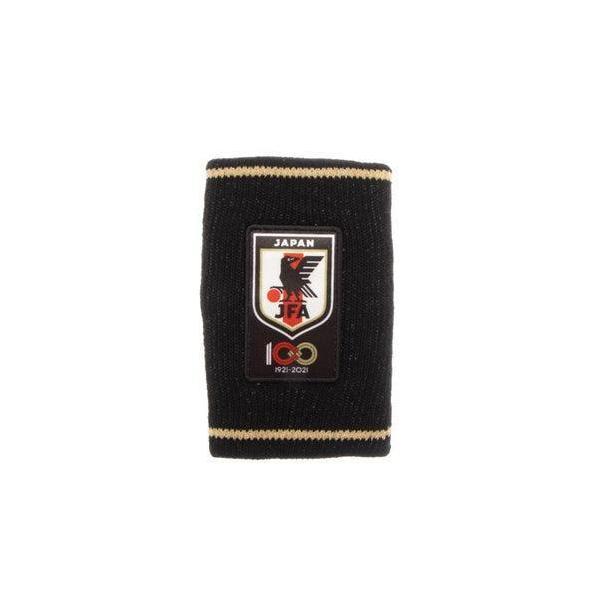 ジェイエフエー JFA メンズ サッカー/フットサル ライセンスグッズ 100周年記念ロングリストバンド O4-798 (ブラック)