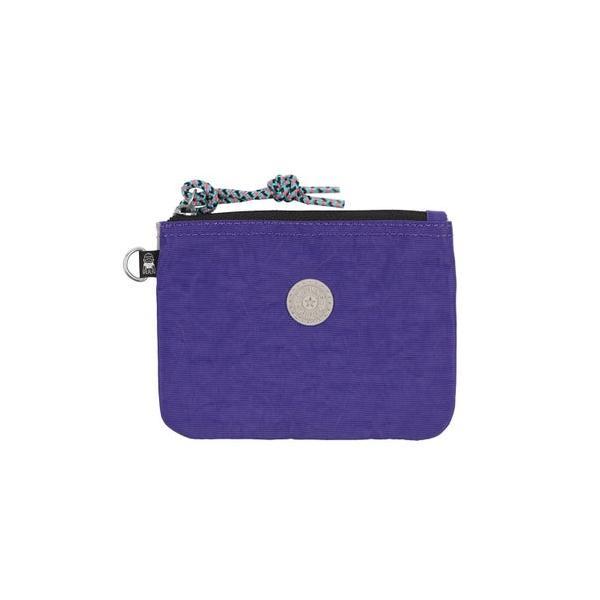キプリング Kipling CASUAL POUCH S (Boost Purple Bl)