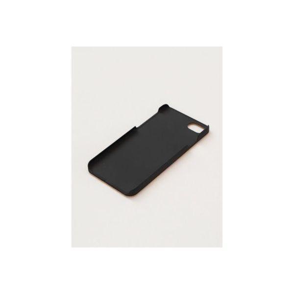 【カヤ】iPhone8/7兼用 木製スマホケース茶 和モダンプリント その他3