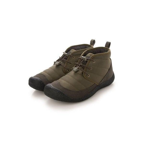 KEEN/キーン ハウザー  チャッカ ブーツ キャンプ アウトドア 撥水 1023816 オリーブ