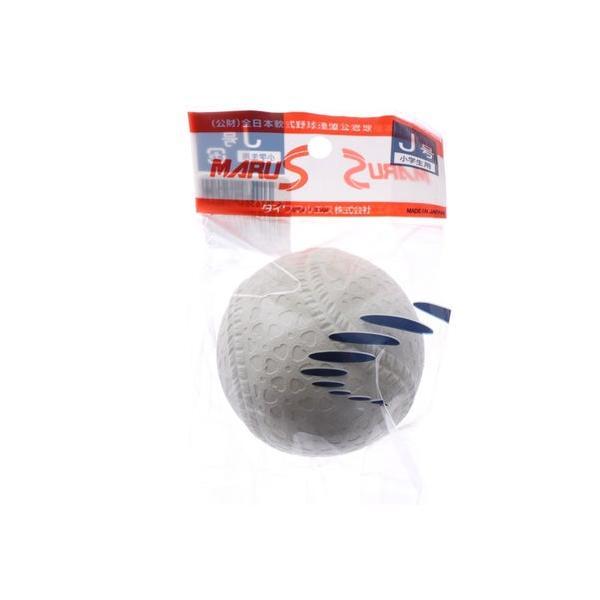 マルエス Maruesu ジュニア 軟式野球 試合球 マルエスボール新意匠公認球J号1個入れヘッタ?パック 15710