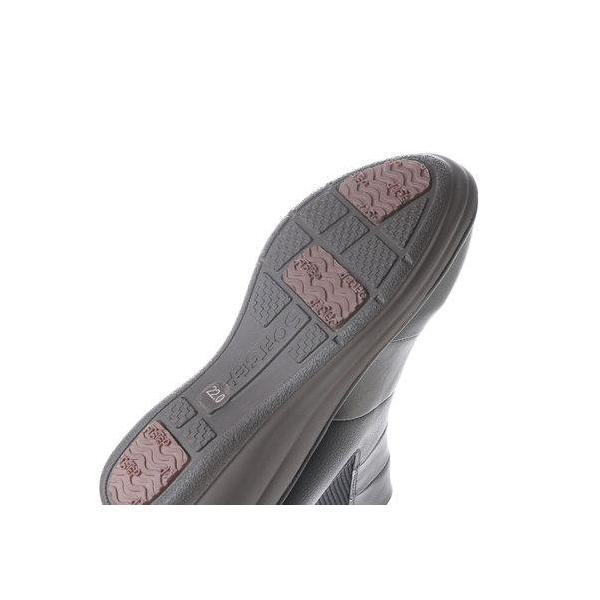 ソフトステップ バイ マドラス SOFT STEP by MADRAS INC 5.5cmサイドゴアショートブーツ  SSL173 (BLA)