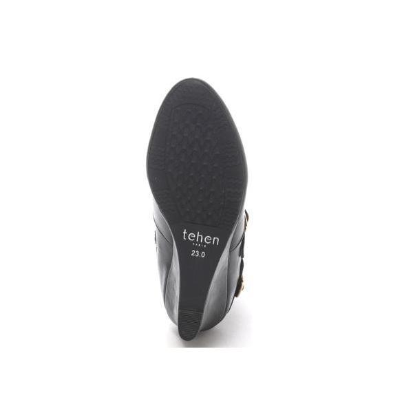 テーン tehen 6.5cmショートブーツ  TN3282 (ブラック)