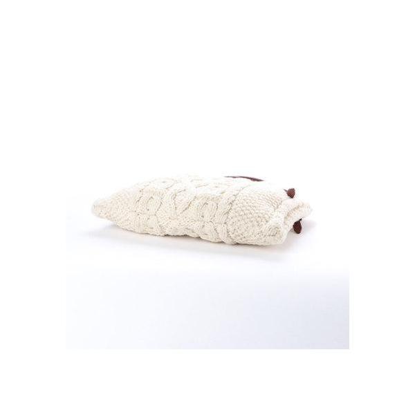 トプカピ TOPKAPI ペルーニットケーブル編み トートバッグ 日本製 (クリーム)