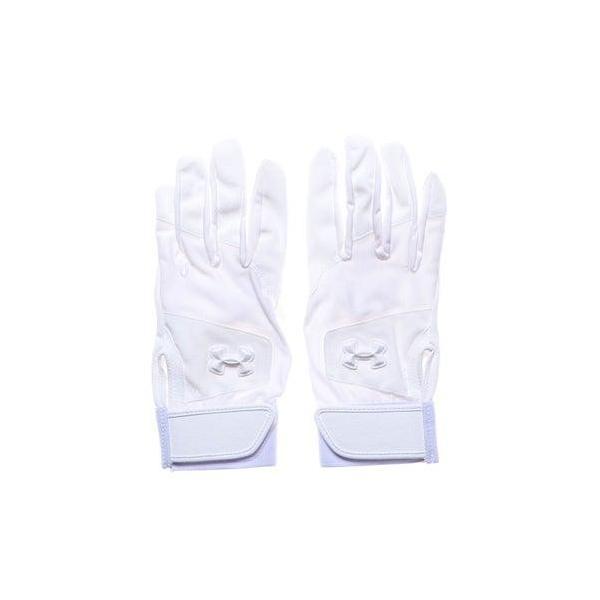 アンダーアーマー UNDER ARMOUR メンズ 野球 バッティング用手袋 UA Clean Up VIII Stealth Batting Glo