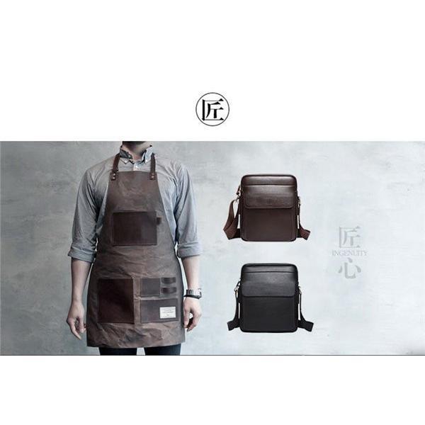 本革 メッセンジャーバッグ ビジネスバッグ ショルダーバッグ メンズバッグ 本革 斜めがけバッグ カジュアル ブラック ブラウン カバン 鞄 父の日 2017|locoprime|02