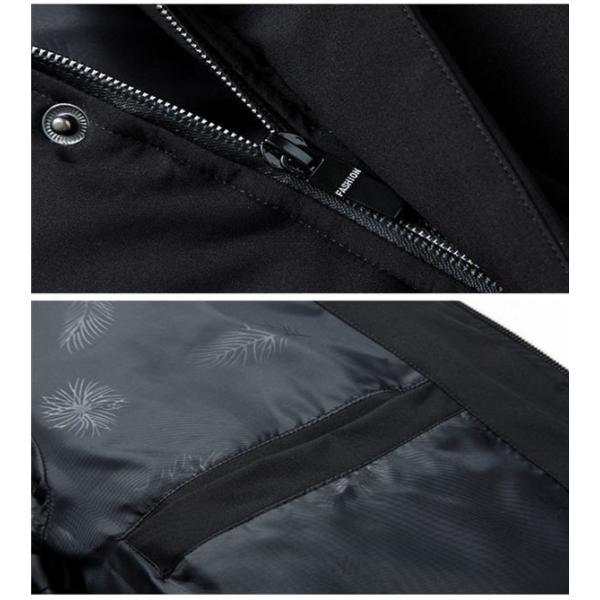 ダウンジャケット メンズ ダウンコート フード付き 軽量 保温アウター 防風防寒 男性 ジャケット メンズ ブランド 高級 通勤 無地 大きいサイズ|locoprime|09