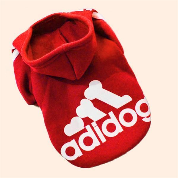 送料無料 アディドッグ ペット服 フードパーカー  ペット用品 ペット 着物 かぶり もの 犬服 ドッグウェア ペットウェア 冬 防寒着|locoprime|06