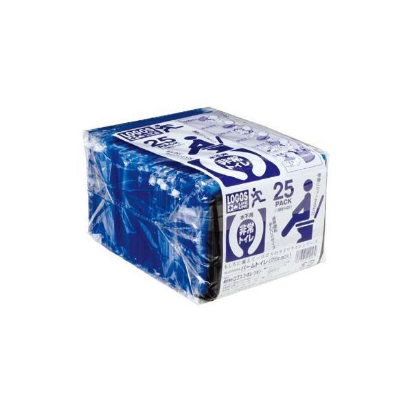 ロゴス LOGOS LLLパームトイレ(25pack) 携帯トイレ エマージェンシー 緊急 災害 防災 登山 簡易トイレ 82100409