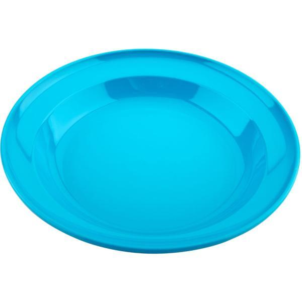 キャプテンスタッグ CAPTAIN STAG ホリデージョイ 抗菌 丸型カレー皿 22cm ブルー UT−36 UT0036