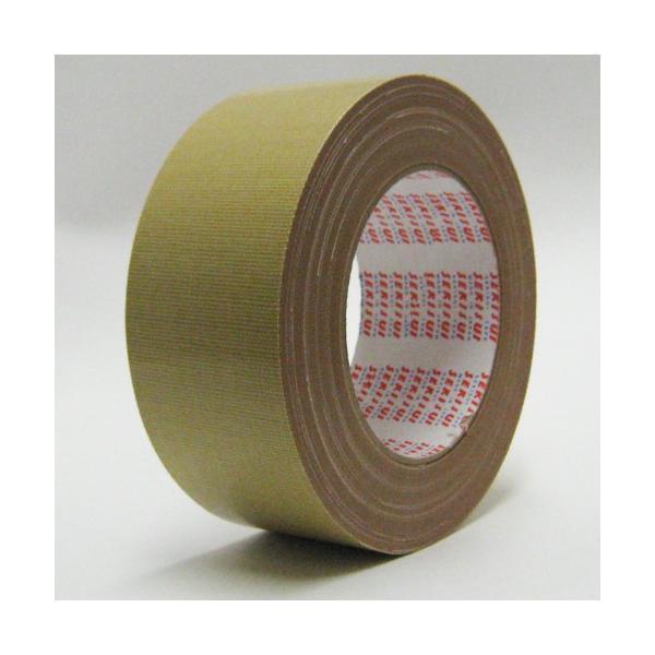セキスイ 布テープ NO600 茶 50mm×25M 1ケース30巻(布 ガムテープ 強力 強粘着 梱包 引越し 養生 梱包資材 梱包用品 こんぽう)