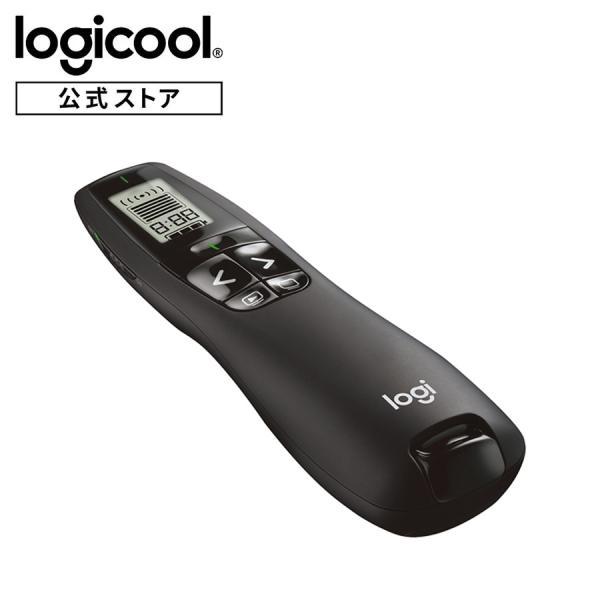 ロジクール ポインター R800t ブラック 緑色レーザー プレゼンテーション R800 緑 レーザー プレゼンター 国内正規品