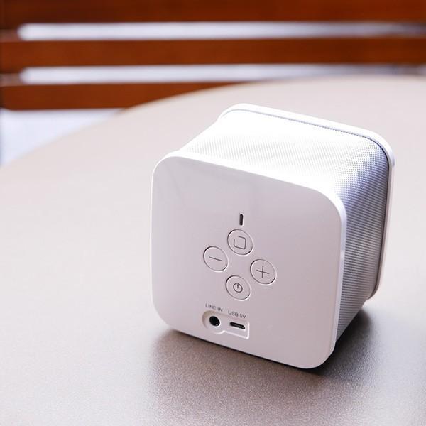 iPhone8 / 8Plus対応 cear(シーイヤー)VRサウンド BluetoothスピーカーPave(パヴェ)CP-PAVE-1000-NW|logitec|02