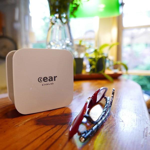 iPhone8 / 8Plus対応 cear(シーイヤー)VRサウンド BluetoothスピーカーPave(パヴェ)CP-PAVE-1000-NW|logitec|03