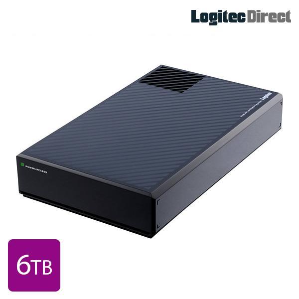 外付けHDD 6TB USB3.1(Gen1) / USB3.0 ファン付 日本製 ロジテック LHD-EG60U3F|logitec