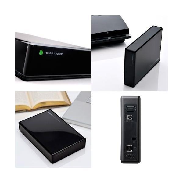 外付けHDD 2TB テレビ用ハードディスク対応 PC用 USB2.0 テレビ録画 日本製 LHD-ENA020U2W|logitec|06