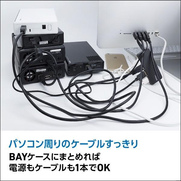 HDDケース 8台搭載可能 3.5インチ SATAハードディスク対応 RAID機能なし USB3.0 eSATA ロジテック LHR-8BNHEU3|logitec|02