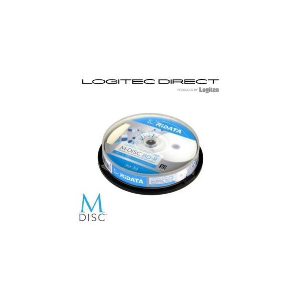 M-DISC BD-R(10枚)写真・映像・思い出、大切なデータを1000年保存可能なブルーレイディスク M-BDR25GBPW10SP M-BDR25GB.PW10SP|logitec